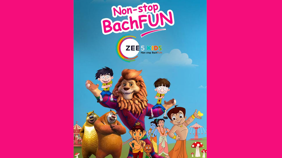 ZEE5 launches ZEE5 Kids; bespoke kids offering from India's Entertainment Super-App