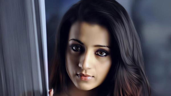 Here's What Makes Trisha Krishnan Really Happy