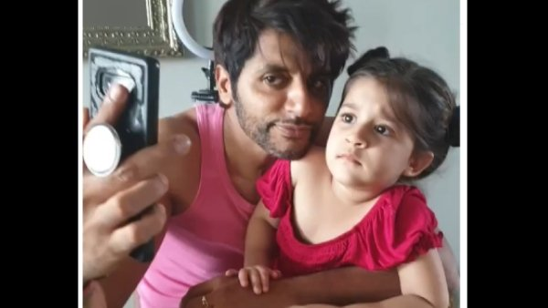 Karanvir Bohra's Daughter Asks Him Angrily, 'Why Did You Hit Mom?' | Bella Makes Him Apologise To Teejay