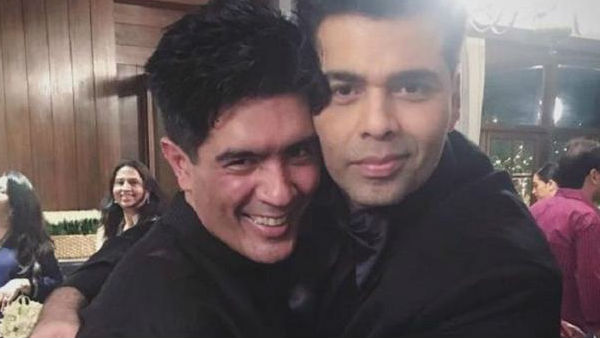 Manish Malhotra's Unexpected Gift To Karan Johar Amid Lockdown