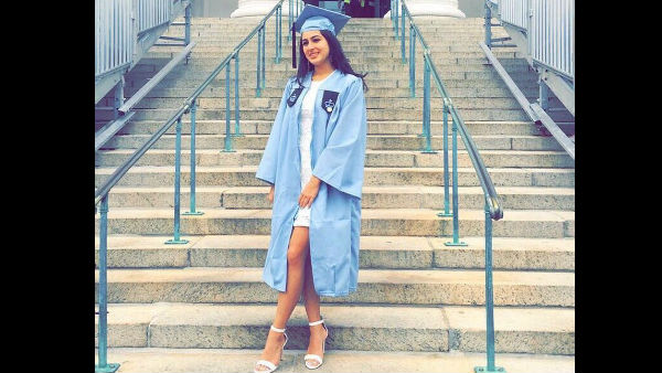 Sara Ali Khan Shares Pictures From Her Graduation Day