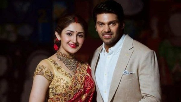 Are Arya And Sayyeshaa All Set To Become Proud Parents?