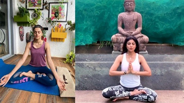 Bollywood Celebrities Wish On International Yoga Day 2020 | Taapsee Pannu, Shilpa Shetty And Others Encourage Fans To Stay Fit With Yoga