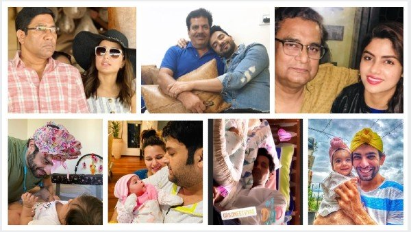 Father's Day Special: Hina Khan, Nimrit Ahluwalia & Others Share Pics With Their Dads | Special Day For Sumeet, Kapil & Jay Bhanushali