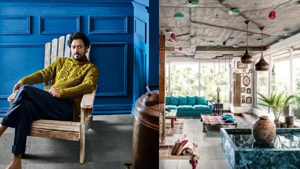 Inside Pictures Of Irrfan Khan's Stunning House In Mumbai | Irrfan Khan Mumbai Home Pictures