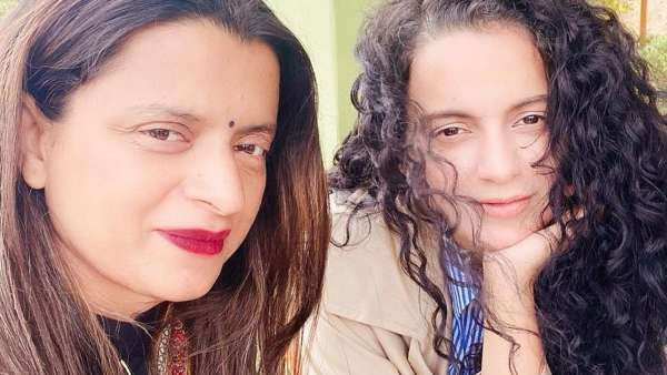 Kangana Ranaut Turns Hairstylist For Sister Rangoli Chandel In Quarantine; Gives Her A Trendy Look