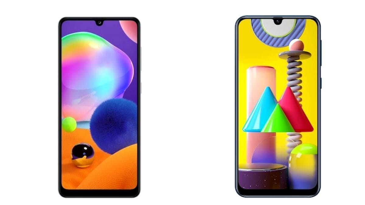 Samsung Galaxy A31 vs Samsung Galaxy M31: Price in India, Specifications Compared