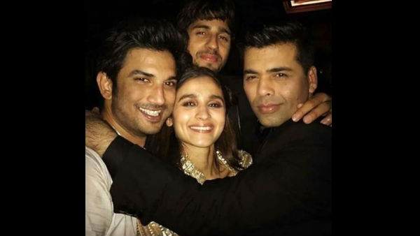Sushant Singh Rajput Picture With Alia Bhatt And Karan Johar Goes Viral Amid All The Hatred