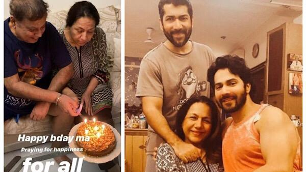 Video | Varun Dhawan Celebrates His Mother Birthday At Home, Pens A Sweet Birthday Wish For Her
