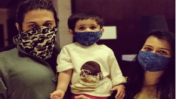 Yash & Family Ask People To Stay Safe At Home; Radhika Pandit Shares A Photo Wearing Mask