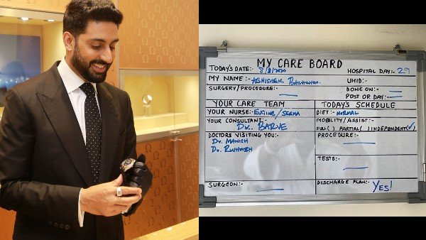 Abhishek Bachchan Happy To Be Able To Go Back Home After Testing Negative For COVID-19   Abhishek Bachchan Tests Negative For COVID-19