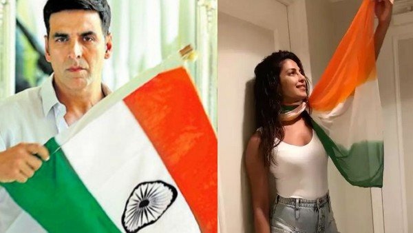 Bollywood Celebrities Wish Fans On Independence Day | Akshay Kumar, Priyanka Chopra, Kareena Kapoor And Other Celebs Extend Wishes To Fans