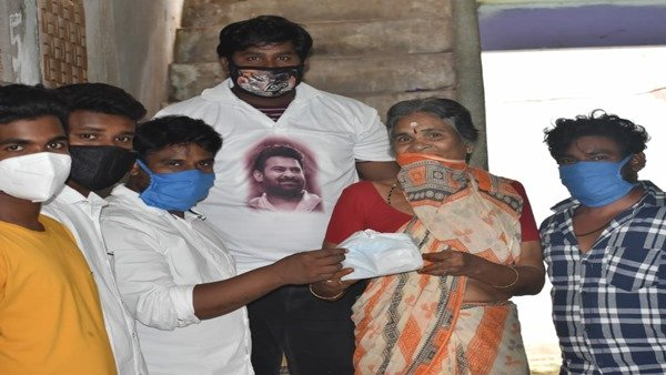 Prabhas' Fans Donate PPE Kits To Aged People In Need