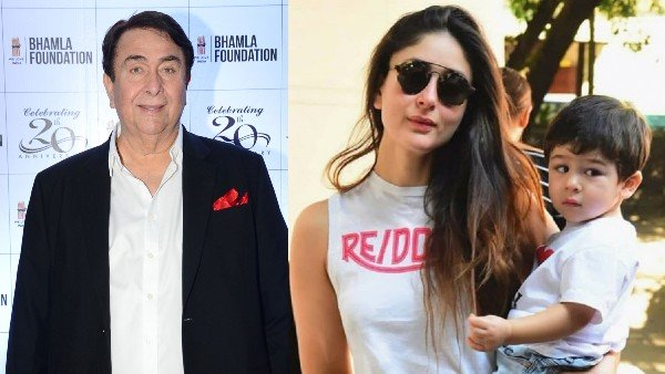 Randhir Kapoor On Daughter Kareena Kapoor's Pregnancy: Taimur Needs A Brother Or Sister To Play With