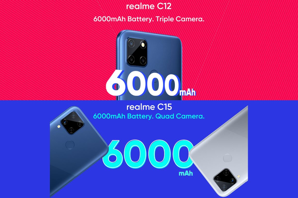 Realme C12, Realme C15 Set to Launch in India on August 18: Price, Specifications