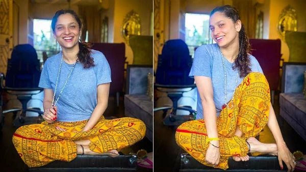 Ankita Lokhande Trolled For Wearing 'Om' Printed Pyjamas; Netizens Ask Her To Respect The Symbol