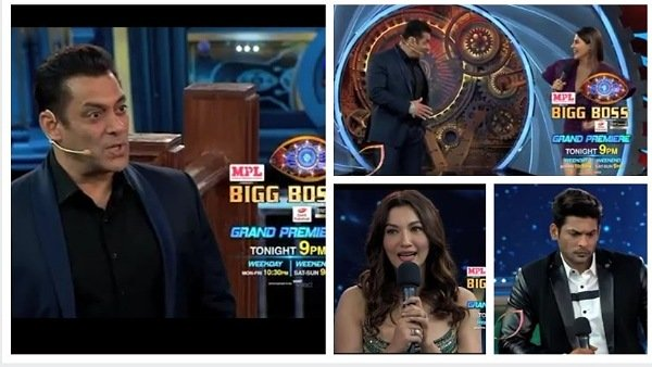 Bigg Boss 14 Grand Premiere: Nikki Gets Compared To Sana | Sidharth & Gauahar Get Into A Fight On 1st Day | BB 14 To Follow Roadies Format