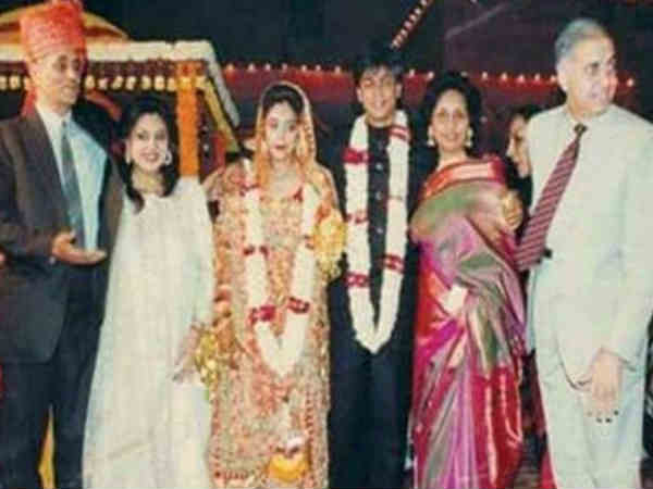 Shahrukh Khan Gauri Khan 29th wedding anniversary special shah rukh khan disguised as a hindu