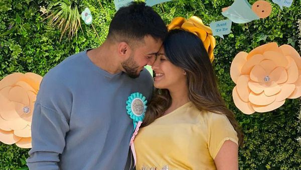 Anita Hassanandani Dazzles At Her Baby Shower Organized By Ekta Kapoor; Karan Patel, Karishma Tanna & Others Grace The Party