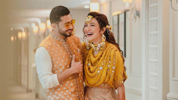 Gauahar Khan Shares Some Beautiful Pictures From Her Mehendi Ceremony With Zaid Darbar