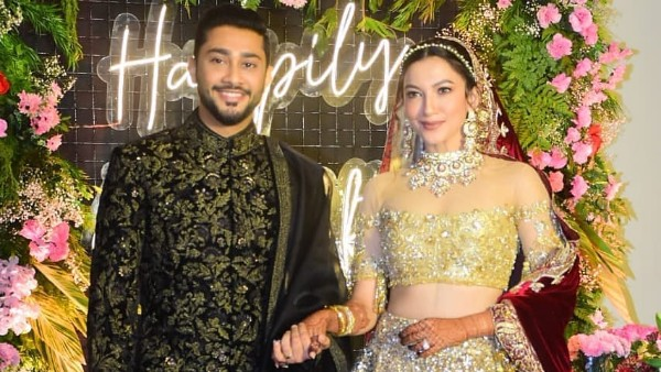 Gauahar Khan-Zaid Darbar Look Breathtaking At Their Wedding Reception, First Pictures From The Ceremony Are Out!