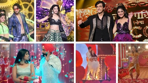 Hina Khan, Shivangi-Mohsin, Helly-Rrahul & Others Perform In Star Plus & Colors' New Year Spl Events