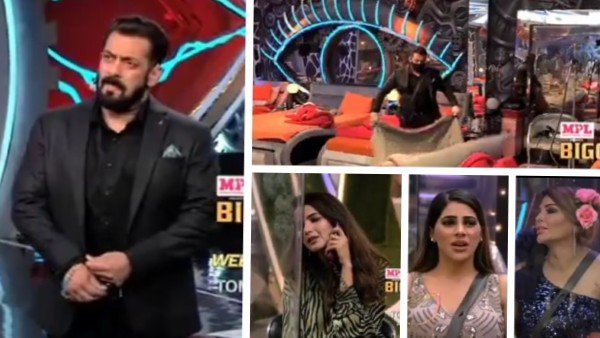 BB 14: Salman Khan Enters House To Clean Rakhi's Bed As Nikki Refuses To Do So; Actor Slams Rubina & Arshi | Jasmin Parents Upsets Aly