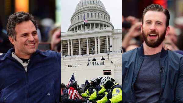 Chris Evans, Mark Ruffalo & Others React To US Capitol Violence; 'They Are The Enemies Of Democracy'