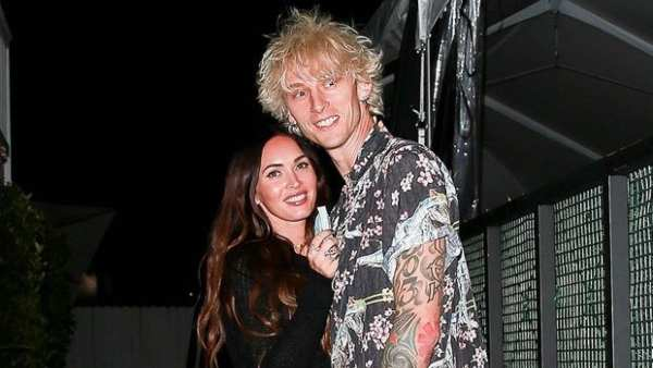 Megan Fox Debunks Engagement Rumours With Machine Gun Kelly, Shares A Close Up Of The NSFW Ring