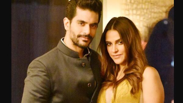 Angad Bedi Tolerates Wife Neha Dhupia Loud Volume, Admits To Checking Her Phone At Times