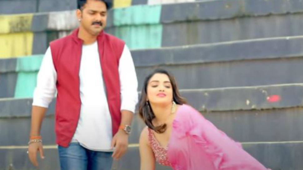 Bhojpuri superstars Aamrapali Dubey and Pawan Singh's romantic song 'Ae Shona' is here to rule YouTube