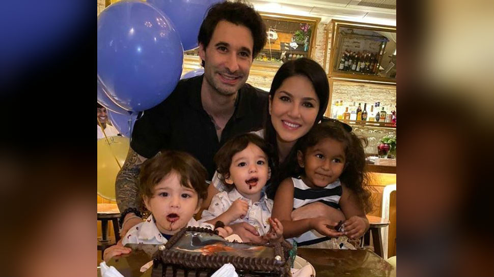 Birthday special: Postcard-worthy pics of Sunny Leone with her family as she turns 39