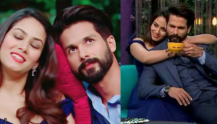 Bollywood News: Mira Rajput can't deal with Shahid Kapoor and this video is the reason - Watch