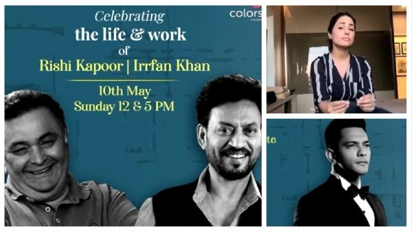 Colors TV To Pay Tribute To Irrfan Khan & Rishi Kapoor With Virtual Music Concert  Hina Khan, Arjun Bijlani & Other Celebs To Participate