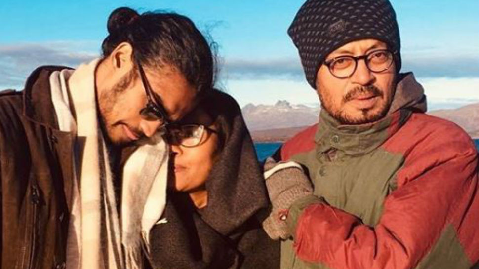 Dear Babil, thank you for sharing this pic of Irrfan Khan and Sutapa Sikdar, it's priceless