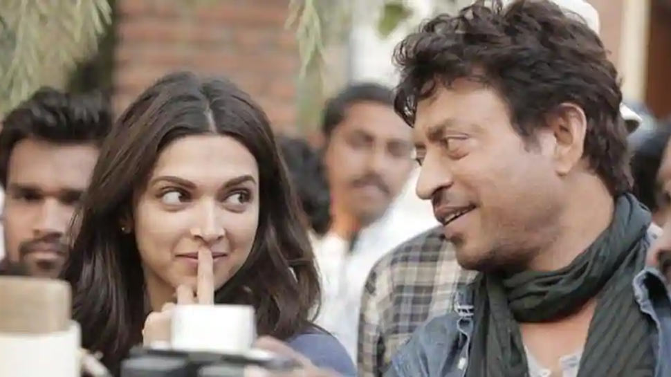 Deepika Padukone playing tennis with Irrfan Khan on 'Piku' sets in this old video is making us all say 'please come back' - Watch
