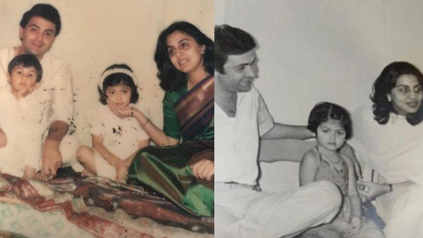 Rishi Kapoor's Unseen Family Photos: Ranbir And Riddhima's Cute Moments With Parents Scream Love