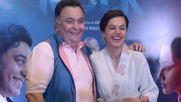 Taapsee Pannu Remembers Rishi Kapoor: His Compliments Sounded Like He Was Scolding You