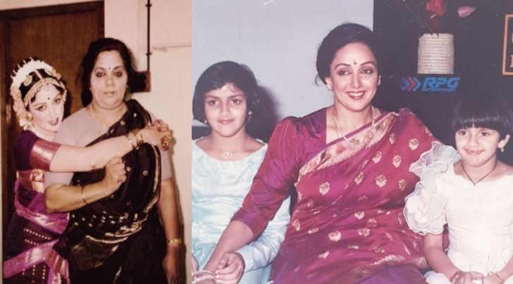 We bet you haven't seen these treasured pics of Hema Malini with her mother, daughters Esha and Ahana