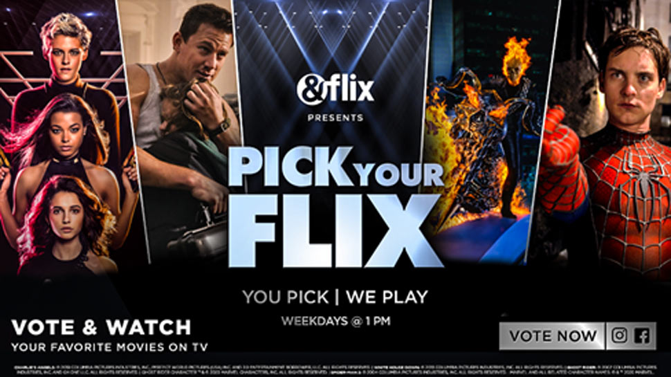 &flix now gives you the freedom to pick your movies